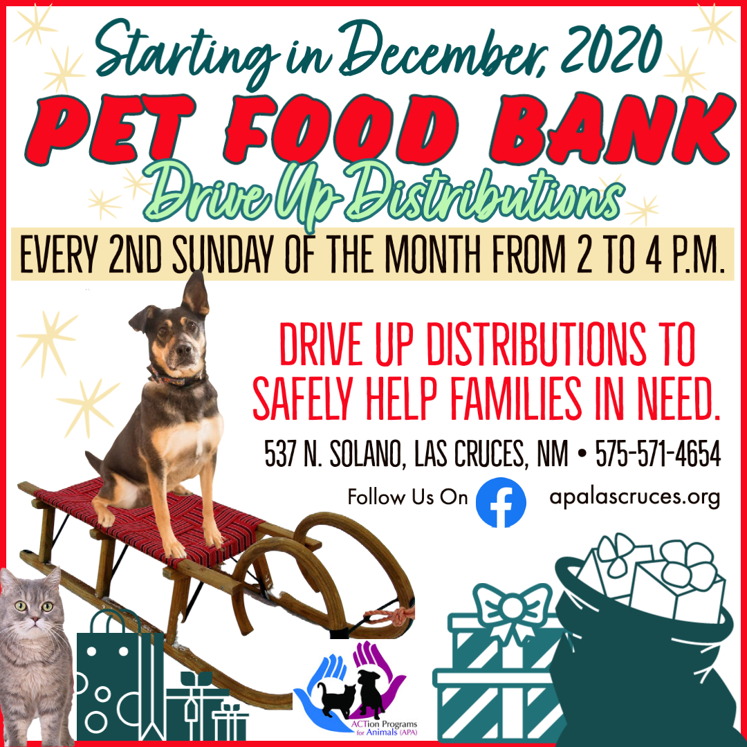Pet Food Bank Drive Up Distributions